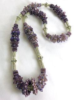 Morado Spirit Made for the Bead Society of Victoria's 2013 raffle by the Geelong Branch members. Seed Bead Jewelry, Bead Earrings, Jewelry Art, Beaded Jewelry, Handmade Jewelry, Jewelry Design, Beaded Necklace, Jewellery, Fabric Beads