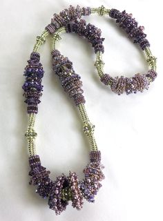 """Morado Spirit"" Made for the Bead Society of Victoria's 2013 raffle by the Geelong Branch members."