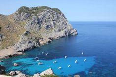 My photography of the sea of Cala Figuera - Palma de Mallorca