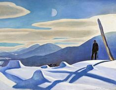 Rockwell Kent (1882-1971, American), The trapper, 1921