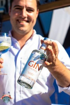 Florian from Triple Three Gin at the Gin Festival in Gaborone, Botswana Gin Festival, Craft Gin, Vodka Bottle, Cities, Blog, Crafts, Manualidades, City, Handmade Crafts