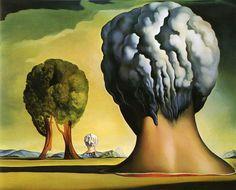 The Three Sphinxes of Bikini - Salvador Dali (1947)