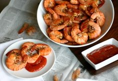Old Bay Peel 'N Eat Shrimp + Homemade Cocktail Sauce 6 Points Plus (including sauce)