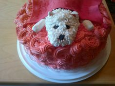 Koira hyppäs kakun päälle köllöttämään <3  http://fb.mfabrik.com/kakku/?page=54 Like my cake, you will find it on the last page, thank you. <3
