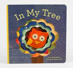 In My Tree finger puppet book by Sara Gillingham and Lorena Siminovich. ($8.50)