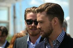 <3 Garrett Hedlund and Justin Timberlake <3