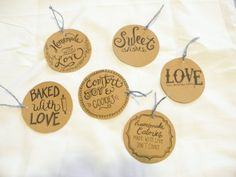 Homemade Baked Goods Tags (6)