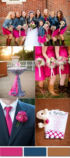 We loved the vibrancy of Pink Yarrow, one of the top 10 Pantone fashion colors for spring 2017. Vibrant and bold, this color nearly borders on magenta and looks softer. It works greatwithsome popular wedding colors ...