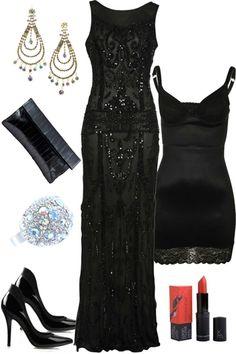 Great Gatsby inspired I bet!! Stunning..