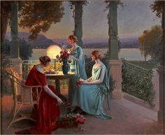 Le Bouquet du Soir by Delphin Enjolras