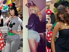 Analysis: Mickey Mouse ears symbolize mind control, and they say those who wear it are fully under the Illuminati's control.