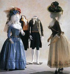 I love the little jackets of the especially this stripy pierrot from the Kyoto Costume institute. 18th Century Dress, 18th Century Costume, 18th Century Clothing, 18th Century Fashion, Rococo Fashion, 1800s Fashion, French Fashion, Gothic Fashion, Style Fashion