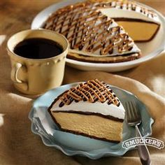 Decadent Peanut Butter Pie from Smucker's