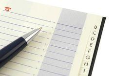 Cómo hacer gratis tu propia libreta de contactos lista para imprimir