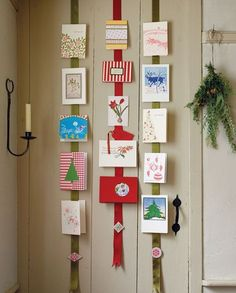 Find creative and easy Christmas and holiday card display ideas to inspire you. Simple and pretty you will love all this fun inspo! Christmas Card Hanger, Hanging Christmas Cards, Charity Christmas Cards, Easy Christmas Decorations, Holiday Crafts, Holiday Fun, Festive, Merry Little Christmas, Simple Christmas
