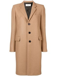 Going Out? 3 Inspired V-Day Looks for Each Camp Cashmere Wrap, Beige Coat, Parisian Style, Single Breasted, Going Out, Saint Laurent, Women Wear, Couture, House Styles