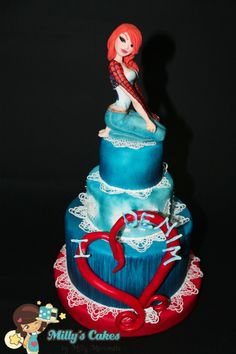 Milly Marconato. Denim. Cake