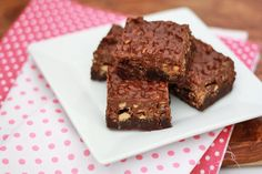 peanut butter crunch brownies. can't wait to try these.