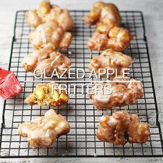 Video Recipe: Glazed Apple Cakes Dessert Recipe # Apple Cakes … – My WordPress Website Mexican Dessert Recipes, Apple Dessert Recipes, Köstliche Desserts, Baking Recipes, Delicious Desserts, Breakfast Recipes, Yummy Food, Dessert Recipe Video, Apple Recipes Video