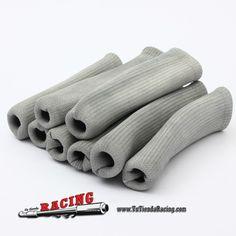 8X Cables Fundas Calcetines de Bujías Cables Bujía Protección Contra Calor Racing Coche Rally Grises -- 17,65€