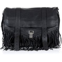 Proenza Schouler Messenger Bag in Leather (3.335 BRL) ❤ liked on Polyvore featuring bags, messenger bags, black, proenza schouler, real leather bags, leather courier bag and leather shoulder handbags