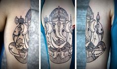 Ganesha Tattoo by David Hale