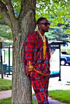 Men in Nigerian Native | My bro killin' it in our native wear!