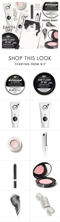 """""""Earth Day Essentials: All-Natural Beauty"""" by katarina-blagojevic ❤ liked on Polyvore featuring beauty, Lqd, rms beauty, Nudestix, Nvey Eco, Ware London and Simon Miller"""