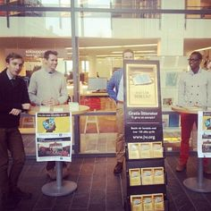 .@jw_witnesses | Public witnessing at the University of Borås, Sweden. Photo shared by @Emmali Day...