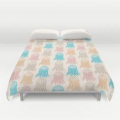 Pastel+Marine+Pattern+02+Duvet+Cover+by+Aloke+Design+-+$99.00