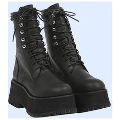 b96dcdcb2902 UNIF Armada Boot ( 158) ❤ liked on Polyvore featuring shoes