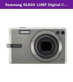 Samsung SL820 12MP Digital Camera with 5x Wide Angle Dual Image Stabilized Zoom and 3.0 inch LCD (Silver). Now it's easy to capture all the details that make memories so special. The SL820 includes an astounding 12 megapixel resolution sensor for fine, detailed, sharp still pictures. Its 5x optical zoom goes from wide angle for breathtaking landscape shots up to a close view. Plus, the 28mm wide-angle lens (35mm equiv) gives you a wider shooting range from a shorter distance. And the Dual...