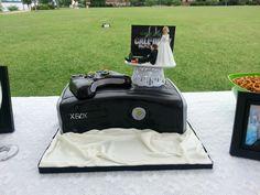 Awesome X-box groom's cake my friend made!