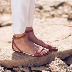 The Serena in Caramel, our newest sandal. | Nisolo