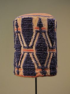 Africa | Prestige hat from the Grasslands of  Cameroon