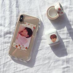 Kpop Phone Cases, Diy Phone Case, Cute Phone Cases, Homemade Phone Cases, Iphone 11, Iphone Cases, Airpods Apple, Apple Watch, Iphone App Layout