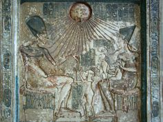 Akhenaten and family