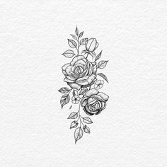 Rose hip tattoo idea