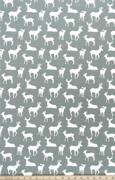 bear yarn dyed linen fabric by charlottewinter on Spoonflower - custom fabric Deer Fabric, Navy Fabric, Drapery Fabric, White Fabrics, Linen Fabric, Curtains, Discount Fabric Online, Nursery Fabric, Deer Silhouette