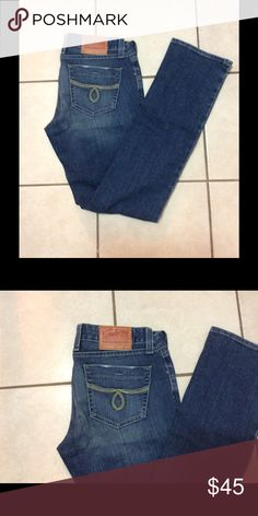 Lucky  Brand jeans Lola Straight size 6/28 Like new Lucky Brand Jeans Straight Leg