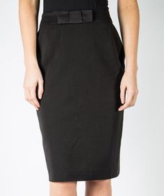 This Black Tie Skirt by DownEast Basics is perfect! #zulilyfinds