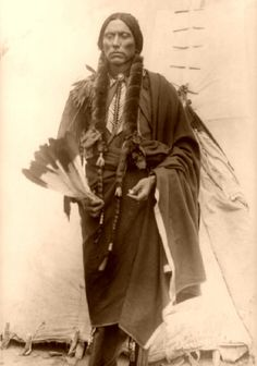 Comanche chief Quanah Parker, from Empire of the Summer Moon- The story of the rise and fall of the Comanche tribe