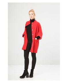Cappotto donna  FONTANA 2.0 11240 Rosso - Primavera Estate - titalola.