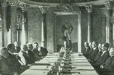 Mannerheim as Regent with his Cabinet