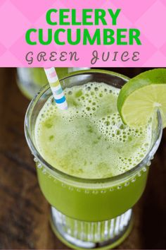 Feeling under the weather? A delicious Celery Cucumber Juice recipes is full of vitamins and micro-nutrients, perfect for those times when you're fighting off a cold or just want to supercharge your immune system. Cucumber Celery Juice Recipe, Cucumber Juice Benefits, Green Juice Recipes, Healthy Juices, Healthy Foods To Eat, Healthy Smoothies, Healthy Life, Vegan Smoothie Recipes, Vegetarian Recipes