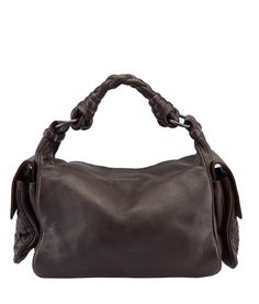 Bottega Veneta Brown Leather Shoulder Bag--$575 #BottegaVenetaHandbags Buy this bag on our website, now! http://www.cashinmybag.com/product/bottega-veneta-brown-leather-shoulder-bag/ This Bottega Veneta bag shows minimal scuffing to the corners and light staining to the interior. It features a magnetic closure and one interior zippered pocket.