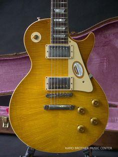 "Gibson Custom Shop True Historic 1959 Les Paul Standard Reissue HRM ""Hard Rock Maple"" Murphy Aged Bella Donna Burst"