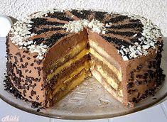 Torte Recepti, Kolaci I Torte, Baking Recipes, Cookie Recipes, Fun Desserts, Dessert Recipes, Rodjendanske Torte, Delish Cakes, Croatian Recipes