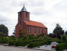 Gravsten på Arden kirkegård. Hindsted herred. Aalborg amt.
