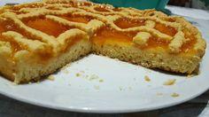 Crostata di marmellata di albicocche cotta con multifry DeLonghi